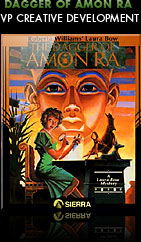Laura Bow, The Dagger of Amon Ra