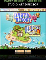 Party Resort, Facebook