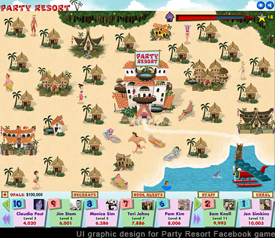 Party Resort Screen Image